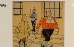 """Nửa triệu Euro một bản vẽ tay truyện """"Những cuộc phiêu lưu của Tintin"""""""