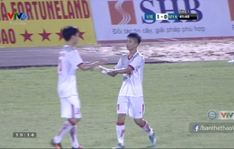 VIDEO: Phan Văn Đức sút tung lưới U21 Myanmar, ghi bàn mở tỉ số cho U21 Việt Nam