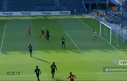 VIDEO: Công Phượng đánh đầu vào lưới U23 Thái Lan, mở tỉ số cho U23 Việt Nam