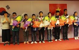 20 thí sinh giành giải tại cuộc thi Tin học năm 2017