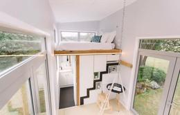 Ngôi nhà hơn 17 m2 với những góc nhỏ được tận dụng tối đa