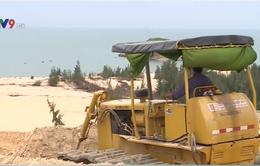 """""""Lỗ hổng"""" trong quản lý các dự án khai thác titan tại Bình Thuận"""
