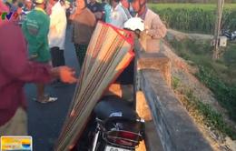 Bình Thuận: 2 xe máy tông nhau trên cầu, một người tử vong tại chỗ