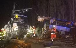 Tai nạn đường sắt nghiêm trọng tại Pháp, hơn 20 người thương vong