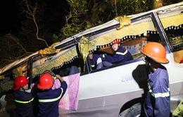Hiện trường kinh hoàng xe khách lao xuống vực ở Lào Cai