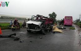 TNGT thảm khốc tại Tây Ninh: Tài xế chạy lấn làn đường