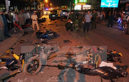 Năm 2017, gần 8.300 người thiệt mạng vì tai nạn giao thông