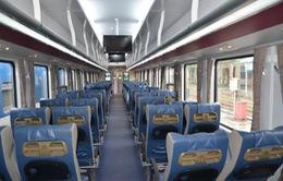 Đường sắt đưa toa xe chống rung lắc vào khai thác dịp Tết Mậu Tuất 2018
