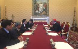Đoàn công tác liên ngành Việt Nam thăm làm việc tại Tòa Thánh