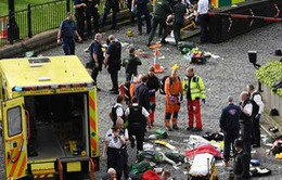 Anh điều tra vụ tấn công khủng bố tòa nhà Quốc hội