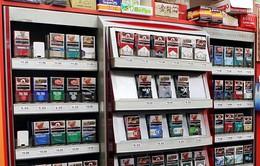 Singapore cấm bày bán thuốc lá từ 1/8/2017