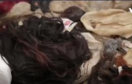 Làm giàu nhờ thu nhặt tóc ở bãi rác