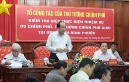 Tỉnh Bình Phước nhận lỗi trước Chính phủ, Thủ tướng