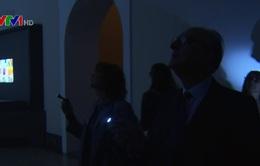 Tham quan bảo tàng trong bóng tối tại Italy