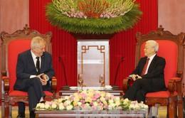 Tổng Bí thư Nguyễn Phú Trọng tiếp Tổng thống Cộng hòa Czech