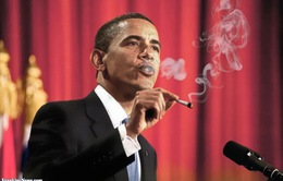 Cựu Tổng thống Mỹ Barack Obama cai nghiện thuốc lá