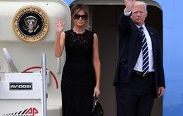 Tổng thống Mỹ bắt đầu thăm Bỉ