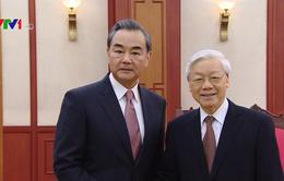 Tổng Bí thư Nguyễn Phú Trọng tiếp Bộ trưởng Bộ Ngoại giao Trung Quốc