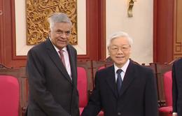 Thủ tướng Sri Lanka tin tưởng Việt Nam tiếp tục phát triển mạnh mẽ trong thời gian tới