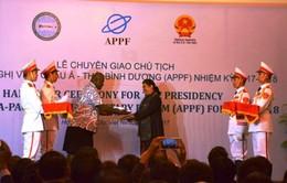 Việt Nam tiếp nhận chức Chủ tịch Diễn đàn Nghị viện châu Á-Thái Bình Dương