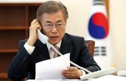 Tân Tổng thống Hàn Quốc điện đàm với lãnh đạo các nước