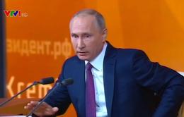 Tổng thống Nga Putin họp báo thường niên năm 2017
