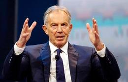 Ông Tony Blair trở lại chính trường giải cứu Anh hậu Brexit