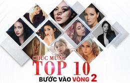 Top 10 gương mặt dẫn đầu bình chọn The Face online đã lộ diện