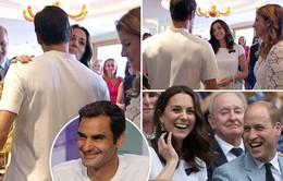 Hoàng gia Anh chức mừng chiến tích vĩ đại của Roger Federer