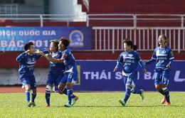 Khai mạc lượt đi giải bóng đá nữ VĐQG - Cúp Thái Sơn Bắc 2017: ĐKVĐ TP.HCM I thua Than khoáng sản Việt Nam