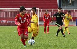 Giải bóng đá nữ VĐQG 2017: CLB TP Hồ Chí Minh 1 tiếp tục bám đuổi CLB Than Khoáng sản Việt Nam