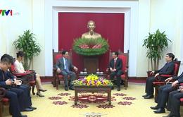 Đồng chí Võ Văn Thưởng tiếp Đại sứ Trung Quốc tại Việt Nam