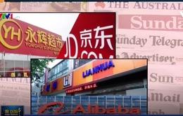 """Trung Quốc: Làn sóng thâu tóm ngành bán lẻ truyền thống của các """"ông lớn"""" thương mại điện tử"""