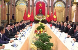 Chủ tịch nước hội đàm với Tổng Bí thư, Chủ tịch nước Trung Quốc Tập Cận Bình