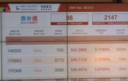Trung Quốc liên kết thị trường trái phiếu với Hong Kong