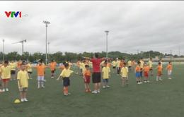 Rèn luyện thể thao trong dịp hè cho trẻ
