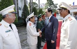 Chủ tịch nước làm việc với Công an tỉnh An Giang