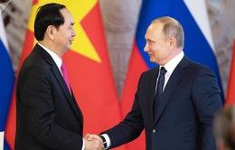 Chủ tịch nước hội đàm với Tổng thống Liên bang Nga