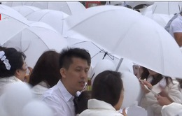 Hàng trăm người tham gia tiệc trắng ngoài trời ở Đài Loan (Trung Quốc)