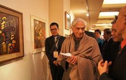 Khai mạc triển lãm tranh, ảnh đương đại Việt Nam tại Ấn Độ