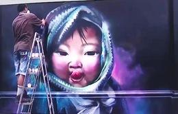"""Thay đổi định kiến về Graffiti với dự án """"Việt Nam trên những bức tường"""" của các nghệ sĩ trẻ"""