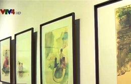 Triển lãm tranh màu nước Hàng Châu, Trung Quốc