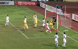 VIDEO: Tình huống trọng tài không công nhận bàn thắng của FLC Thanh Hóa