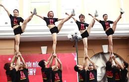 Cheerleading - Nhảy cổ vũ sôi động thu hút giới trẻ