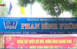 Khiển trách Hiệu trưởng Trường THPT Phan Đình Phùng có nữ sinh bị bỏng nặng