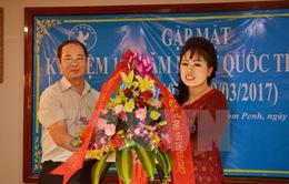 Tri ân đóng góp của phụ nữ kiều bào Việt Nam tại Campuchia