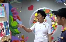 """Café sáng với VTV3: Độc đáo triển lãm tranh """"tài không đợi tuổi"""""""