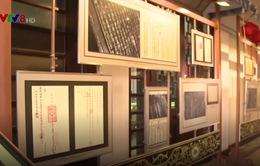 """Triển lãm """"Hội An - Quảng Nam, những dấu mốc lịch sử qua Châu bản, Mộc bản - Di sản Tư liệu thế giới"""""""