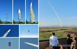 Triều Tiên thử hệ thống vũ khí phòng không mới