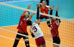 Giải bóng chuyền nữ quốc tế VTV9 Bình Điền 2017: CLB 4.25 cùng Bangkok Glass vào bán kết
